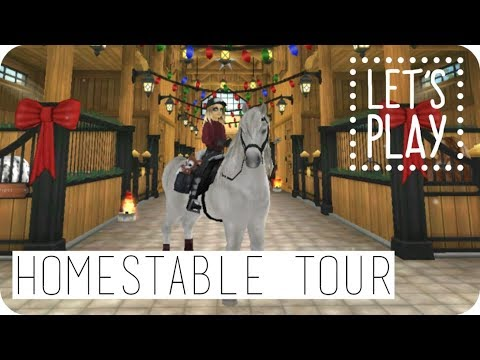 Homestable Tour 2017 + facecam! | LET'S PLAY | Daphne - Zoey Winterson | Star Stable Online