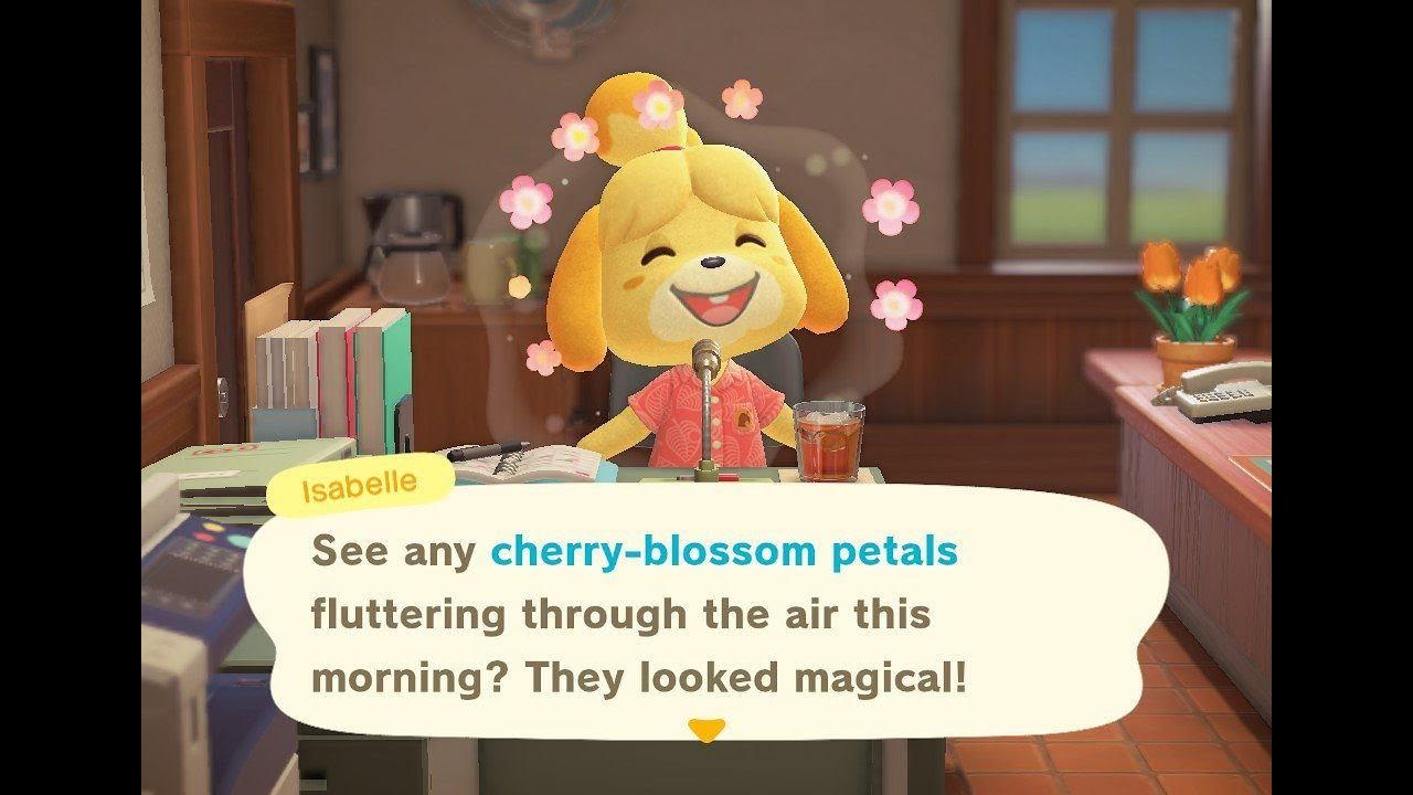 How To Get Sakura Blossom Trees In Animal Crossing New Horizons Youtube
