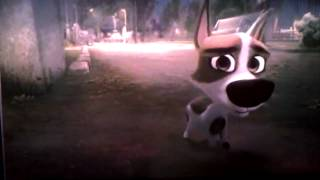 Sad scene from Space Dogs
