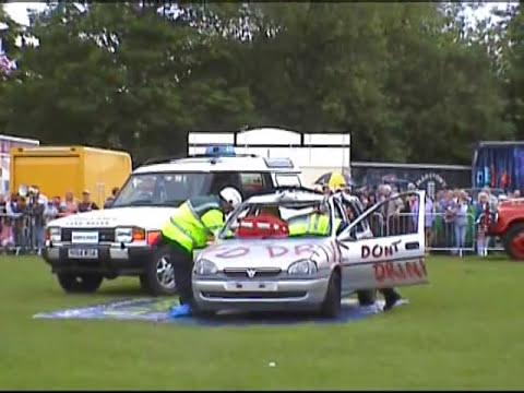Fire Service Car Crash Rescue Demonstration.