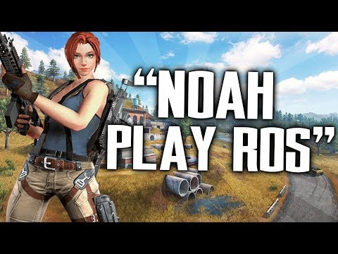 """""""Noah Play ROS"""" (Rules of Survival)"""