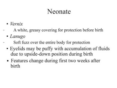 3.2 Prenatal Environmental Influences & Newborns