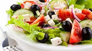 Классический греческий салат / Вкусный и быстрый рецепт