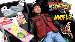 Hot Toys MARTY MCFLY Back to the Future 2 Review BR / DiegoHDM