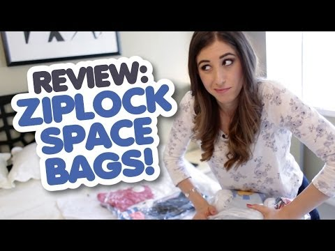 Review: Ziploc Space Bags (Travel Cubes) Mp3
