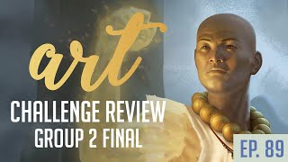 MTG / Warcraft Art Challenge Finals | Livestream 89