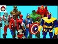 Download mp3 Marvel Avengers Guardians of the Galaxy Superheroes Toys - Captain America Iron Man Hulk Spider Man for free