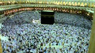 SHOLAT MAGHRIB IN MASJIDIL HARAM IMAM Shaykh Abdulrahman Sudais, IBADAH UMROH 290411