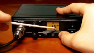 Обзор радиостанции MegaJet MJ-300(Обзор и доработки радиостанции гражданского диапазона MegaJet MJ-300 Текстовый вариант с фотографиями можно..., 2013-03-25T10:38:08.000Z)