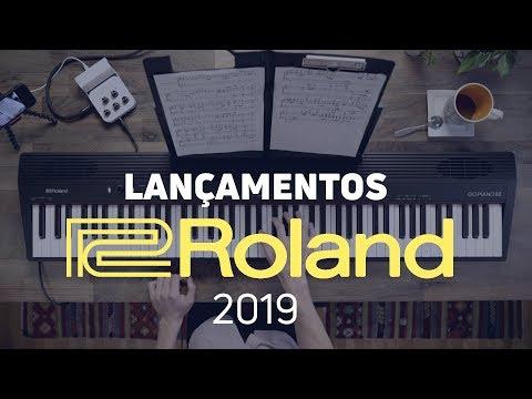 Os NOVOS PIANOS da Roland  s 2019