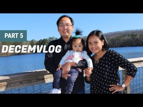 DECEMVLOG| Part 5 Trip to Callaway Gardens for our 6th Wedding Anniversary