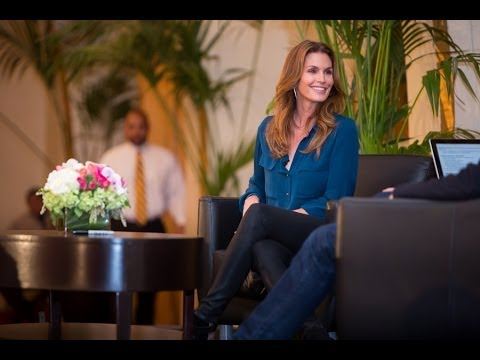 Cindy Crawford at USC | Full Interview | 2014