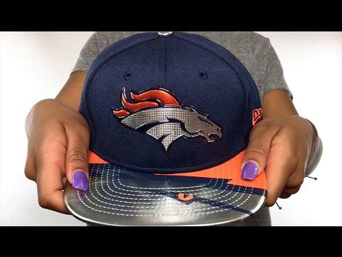 Broncos  2017 NFL ONSTAGE SNAPBACK  Hat by New Era - YouTube 1e79525b8