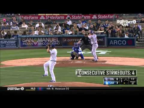 Kershaw pitches Dodgers past Rockies