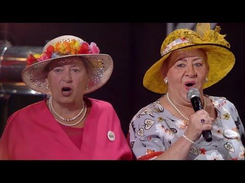 """Seniorzy podbili serca publiczności piosenką """"Używaj dziewczyno, póki żeś młoda!"""" [Mam Talent!]"""