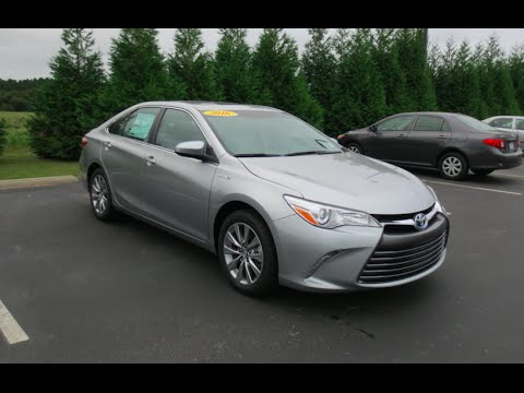 2016 toyota camry xle hybrid full tour start up at. Black Bedroom Furniture Sets. Home Design Ideas
