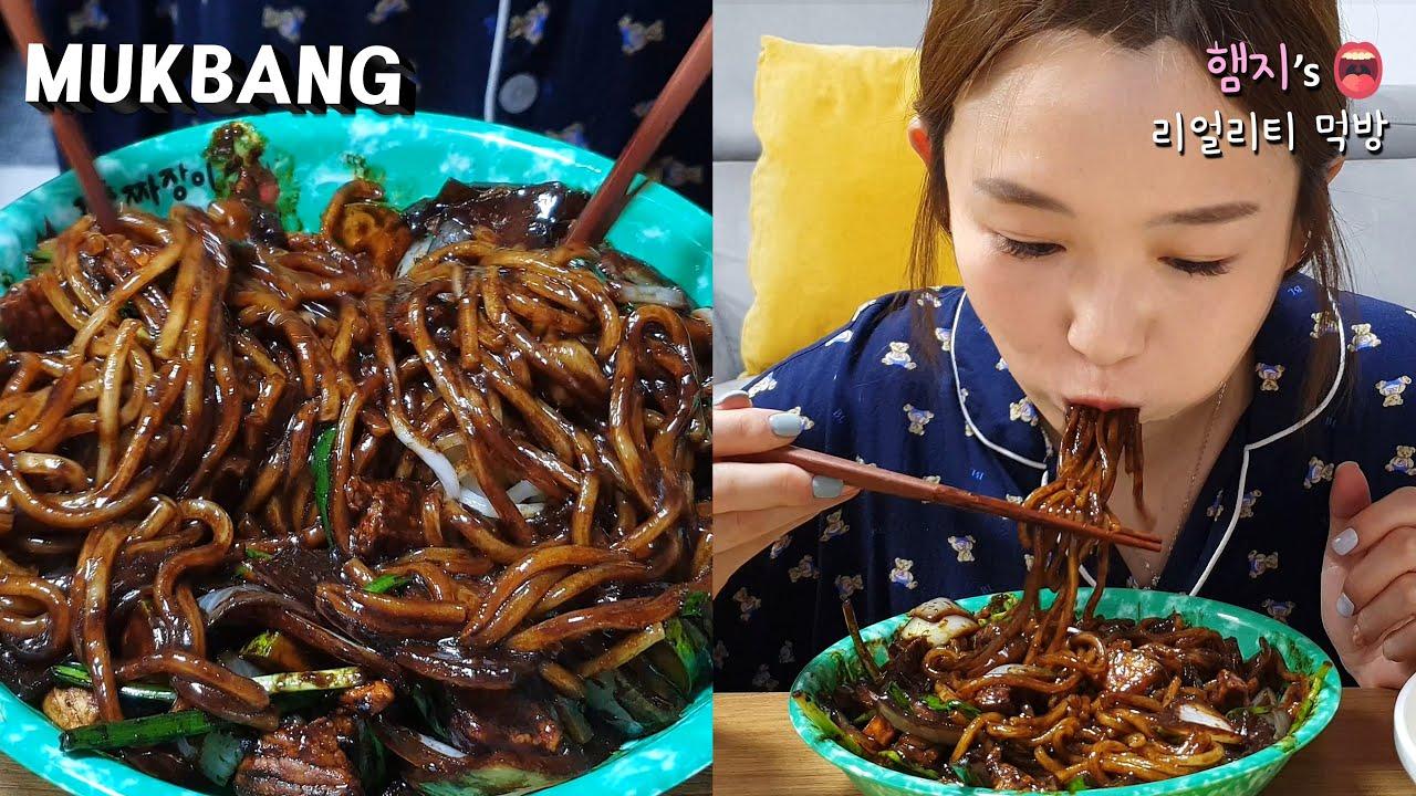 리얼먹방:) 중국집 간짜장 만들기 (ft. 짜장밥)ㅣJjajangmyeon & JjajangbapㅣREAL SOUNDㅣASMR MUKBANGㅣEATING SHOWㅣ