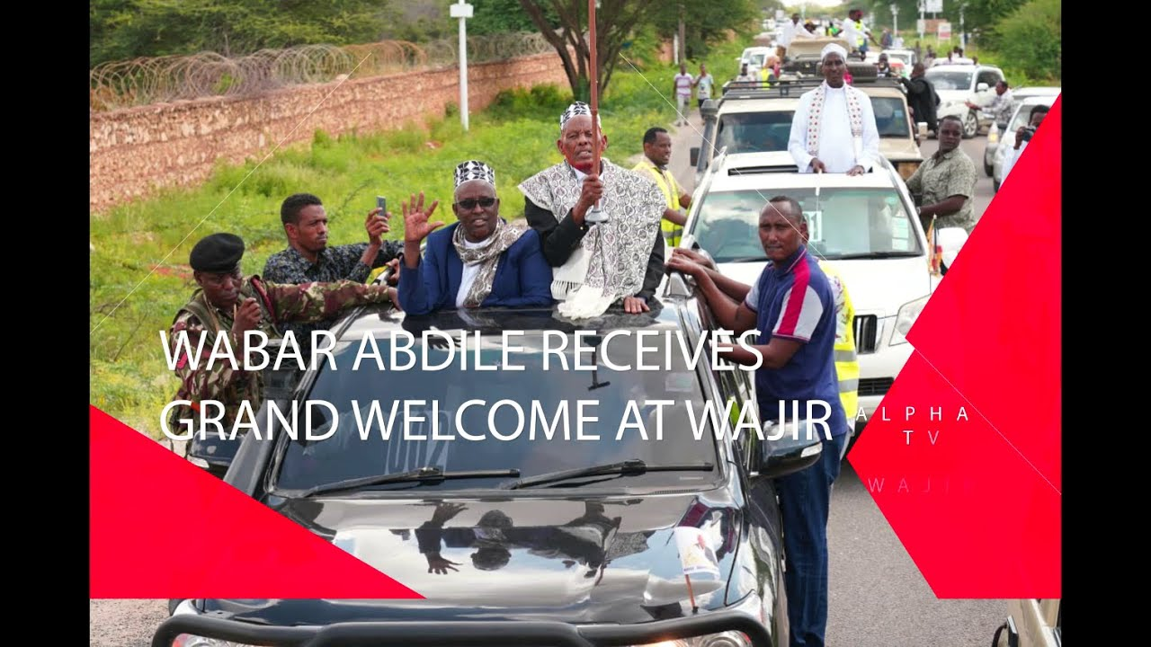 Download DEGODIA KING WABAR ABDILLE ARRIVES IN WAJIR