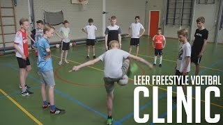 Leer Freestyle Voetbal Clinic