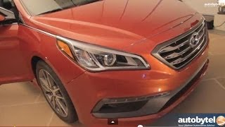2015 Hyundai Sonata SNEAK PREVIEW @ New York Auto Show with Peter Schreyer