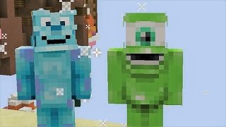 Video de MIKE WAZOWSKI Y SULLY EN MINECRAFT!