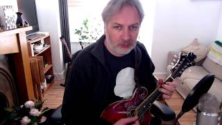 Bonaparte Crossing The Rhine (hornpipe) on mandolin