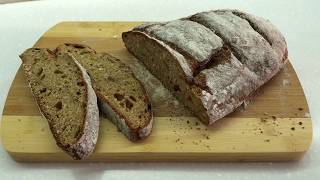 Хлеб Простой рецепт и выпечка домашнего бездрожжевого хлеба Ржаной хлеб в духовке