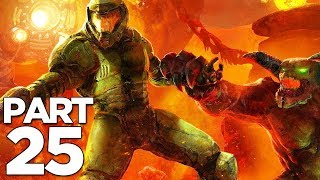 DOOM ETERNAL Walkthrough Gameplay Part 25 - NEKRAVOL 2 (FULL GAME)