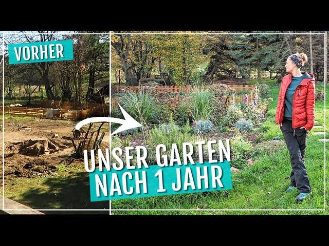 Vorher Nachher Nach 1 Jahr Xxl Garten Makeover Vom Tannenwald Zum Wellness Garten Vlog Youtube