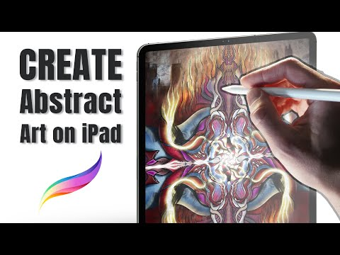 Creativity Idea to Make Art - Digital Art Timelapse - Procreate Tutorial on iPad Pro thumbnail