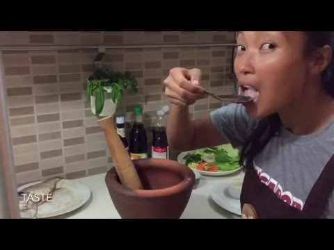 How To Make Steamed Fish / Easy Thai Food Recipes