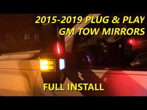 2009 Silverado Tow Mirror Wiring Diagram: Plug and Play 2015 - 2018 Silverado Sierra GM Tow Mirror Upgrade rh:youtube.com,Design