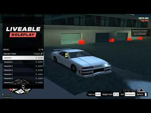 [MTA] Liveable Roleplay - Gelişmiş Modifiye Sistemi