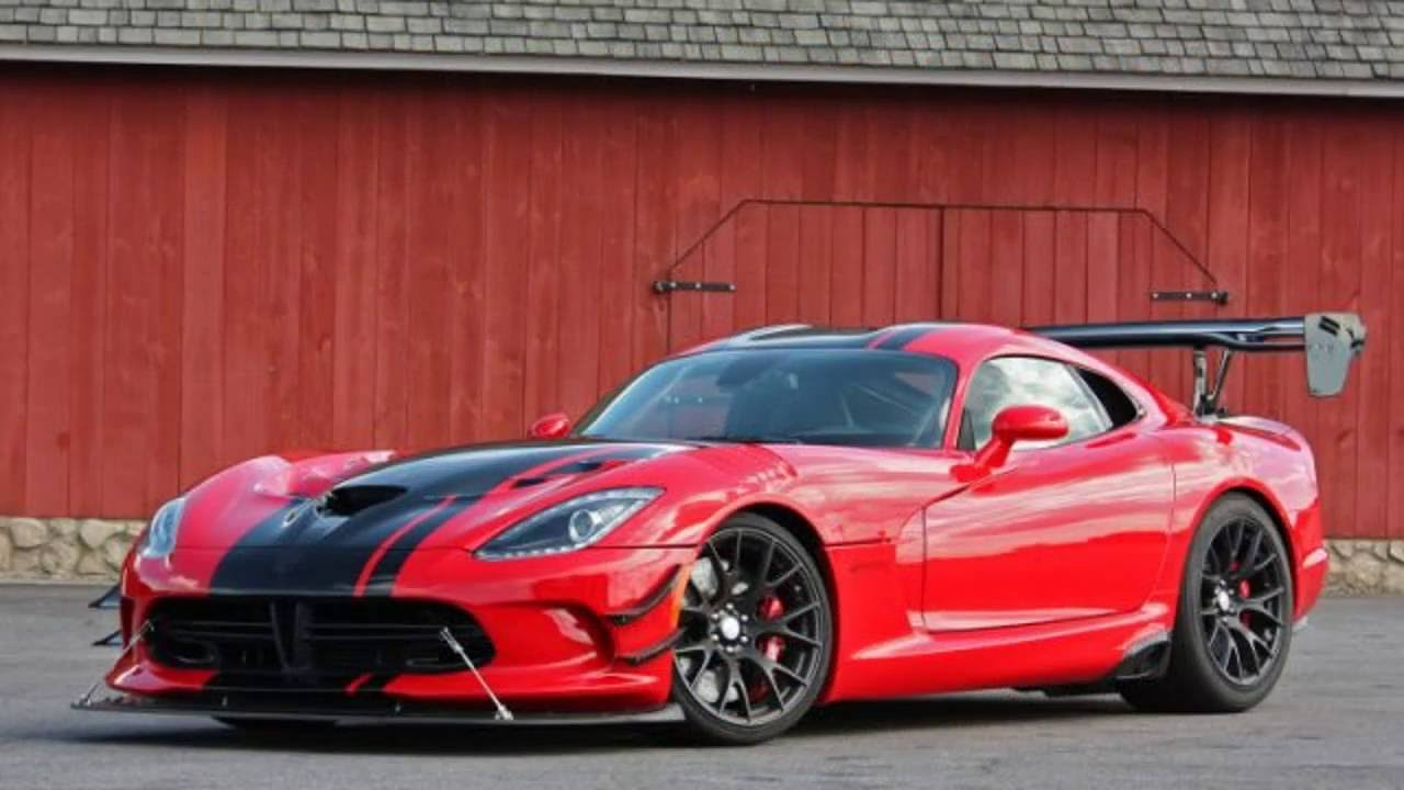 2017 Dodge Viper Acr New Car Review Youtube