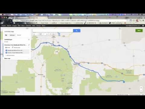 Google Maps Trip Planner to Google Earth KML Import Tutorial