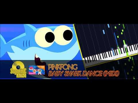 Pinkfong - Baby Shark Dance (FULL MIDI)