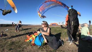Paragliding - Magic golden October Flight