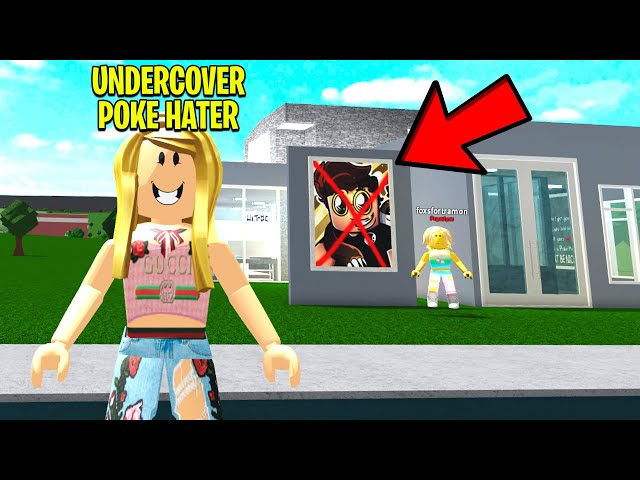 POKE HATER Only Lets MEAN PEOPLE In.. So I Went UNDERCOVER! (Roblox)