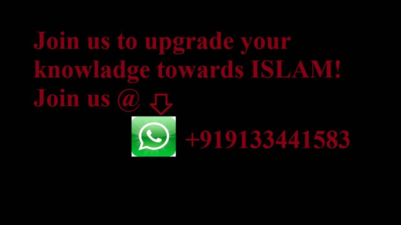 Islamic whatsapp group number