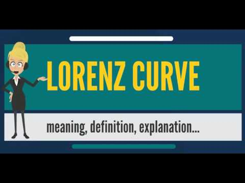 What is LORENZ CURVE? What does LORENZ CURVE mean? LORENZ CURVE meaning, definition & explanation