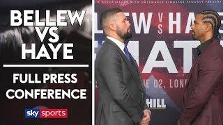 Tony Bellew vs David Haye | Full Press Conference | The Rematch