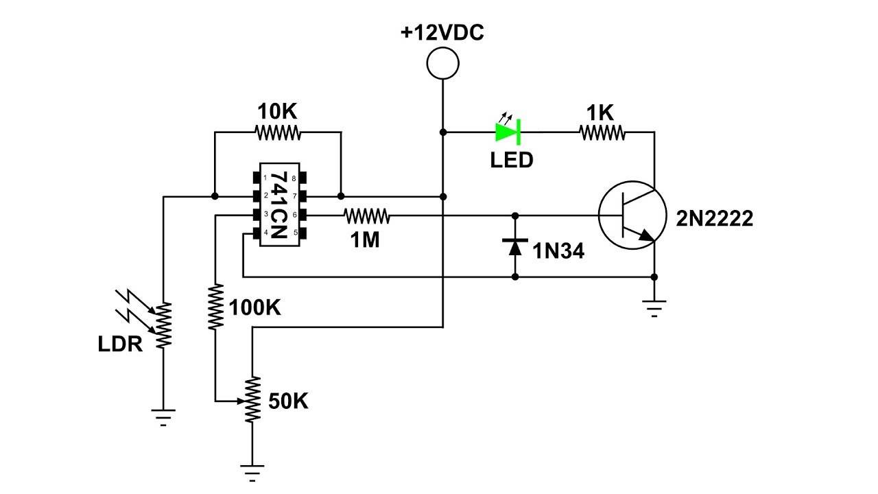 Ldr Light Dependent Resistor Laser Operated Youtube Circuit Diagram