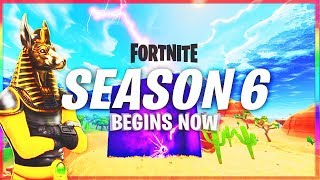 FORTNITE SEASON 6 SKINS & THEME LEAKED! - NEW SEASON 6 Battle Pass (Fortnite Battle Royale Season 6)