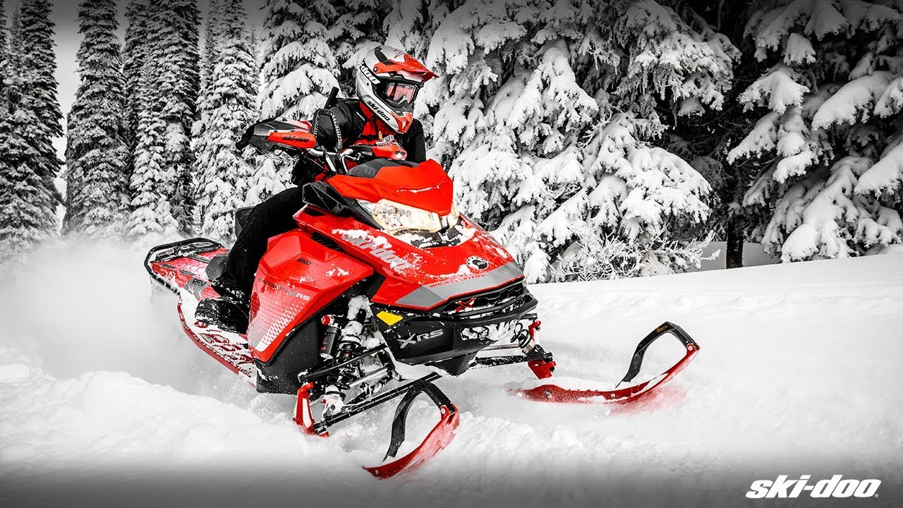 2019 Ski Doo Freeride >> The 2019 Ski-Doo Renegade & Backcountry Snowmobiles - YouTube