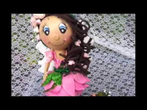 Fairy Fofucha Doll Pen Foamy Doll - YouTube