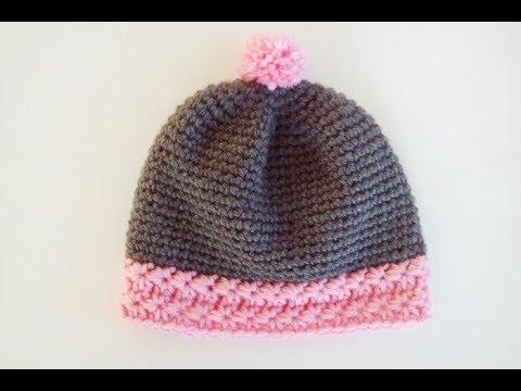 af671d60f598 Tuto   mon bonnet étoilé au crochet - YouTube