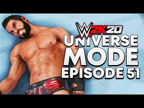 WWE 2K20 | Universe Mode - 'MR INVISIBLE?!' | #51
