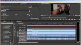 Синхронизация разных записей, Видеоурок № 7, Adobe Premiere Pro CS6, 28.02.2014