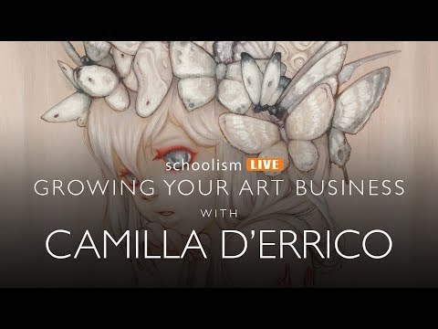 Growing your art business with Camilla d'Errico