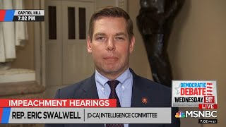 John Ward Eric Swalwell - I AM FARTACUS (Impeachment Part 2)
